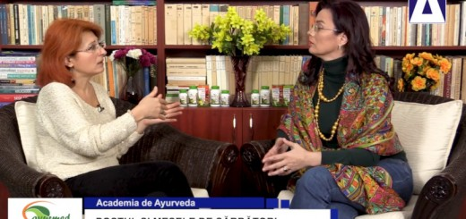ACC - AA - Postul si mesele de sarbatori - Ayurmed - Realizator Cecilia Caragea