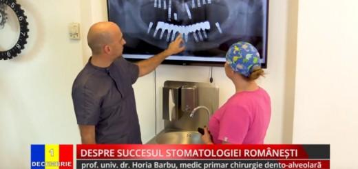 ACC - IA - Despre succesul stomatologiei romanesti - Clinica Dr. Barbu - Realizator Cecilia Caragea