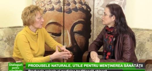 DPS Medika TV - Produsele apicole si medicina traditionala chineza - APidava - Realizator Cecilia Caragea