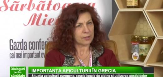 DPS Medika TV - Situatia apiculturii europene, rasele locale de albine si utilizarea pesticidelor - Apidava - Realizator Cecilia Caragea