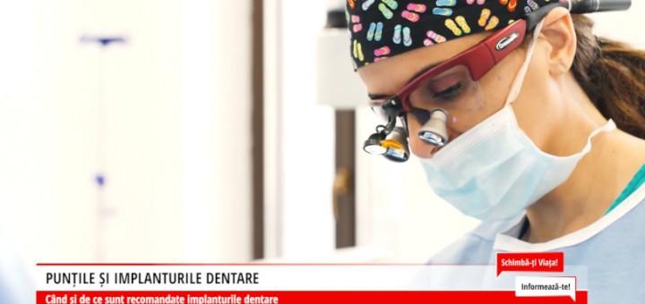 SVI - Puntile si implanturile dentare - Dental Premier - Arena Communications