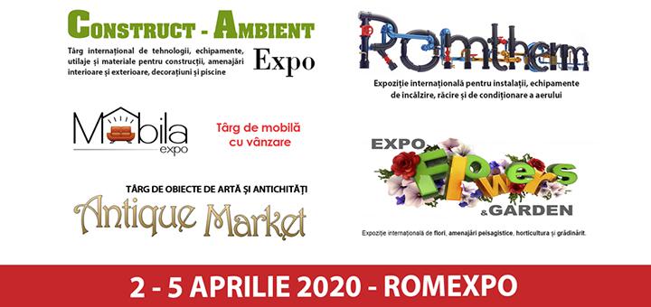 Manifestari expozitionale home and deco, la Romexpo