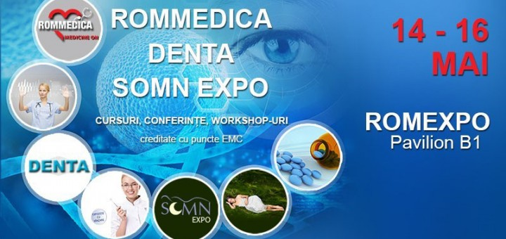 Rommedica, Denta I si Somn Expo, la Romexpo