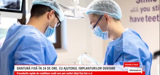 SVI - Dantura fixa in 24 de ore, cu ajutorul implanturilor dentare - Dr. Corrado Cazacu - ACC Media Channel