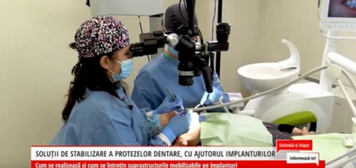 SVI - Solutii de stabilizare a protezelor dentare, cu ajutorul implanturilor - Dental Excellence - Arena Comunications