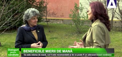 DPS - Beneficiile mierii de mana - Apidava - Realizator Cecilia Caragea
