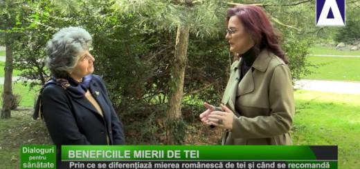 DPS - Beneficiile mierii de tei - Apidava - Realizator Cecilia Caragea