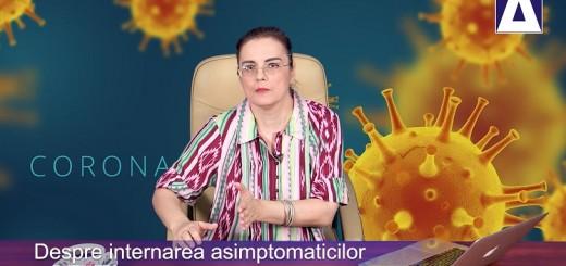 Arena Sanatatii - Despre internarea asimptomaticilor, realizator Cecilia Caragea