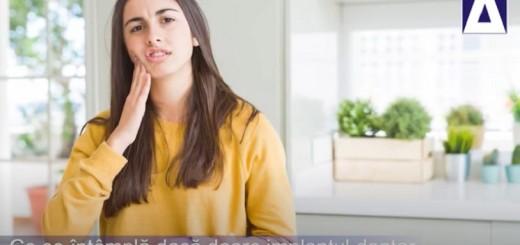 Arena Sanatatii - Ce se intampla daca doare implantul dentar