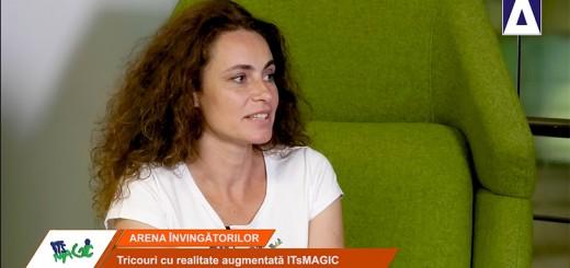 Arena Invingatorilor - Monica Mateescu (ITsMAGIC), despre tricourile cu realitatea augmentata