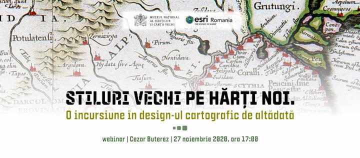 Webinar Stiluri vechi pe harti noi banner