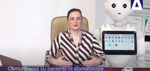 Arena Sanatatii - Comunicarea cu pacientii in stomatologie. Robotul Pepper la Clinicile Unident