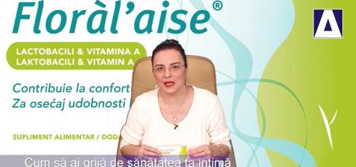 Arena Sanatatii - Cum sa ai grija de sanatatea intima - Cecilia Caragea, Floral aise