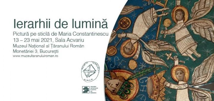 Expozitia de pictura Ierarhii de lumina, la Muzeul Taranului